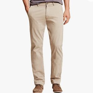 DL1961 Kent Casual Straight Chino Pants in Birch
